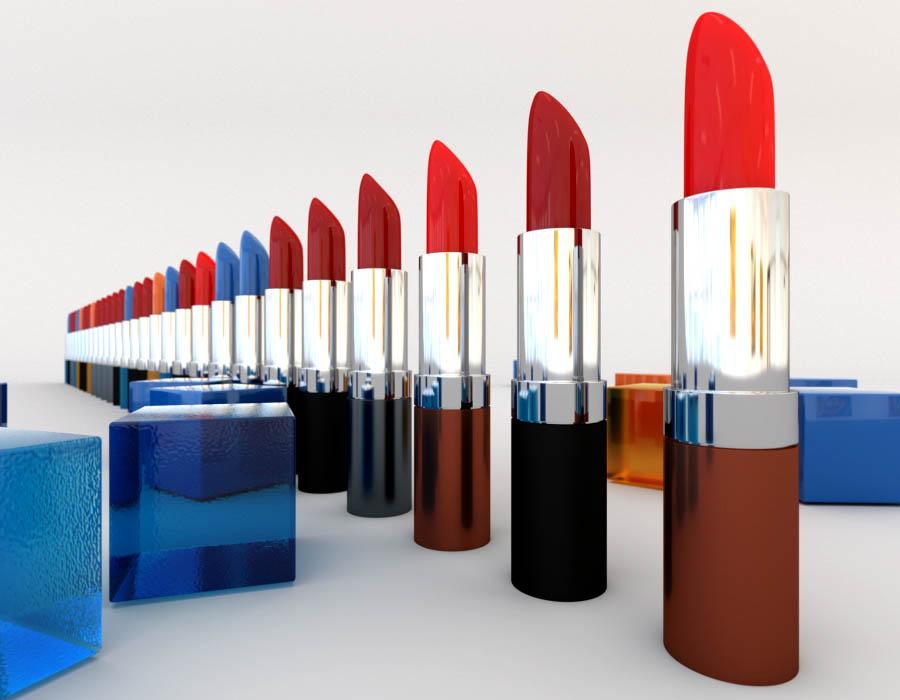 Servicios de consultoría en seguridad y calidad cosmética. Imágen de pintalabios para su consultoría
