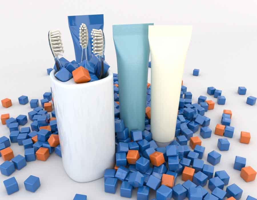 Bodegon pastas de dientes Formacion especializada en IFS HPC ISO 22716 en madrid